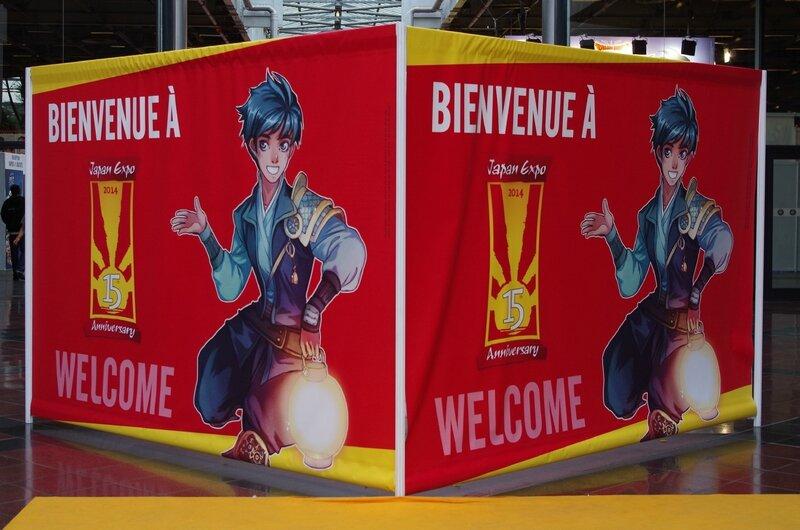 Bienvenue aux 15 ans de Japan Expo !