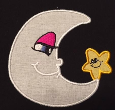 Applique lune 1