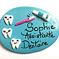 ASSISTANTE DENTAIRE, DENTISTE