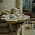 Sous la nef de Saint-Germain l'Auxerrois.