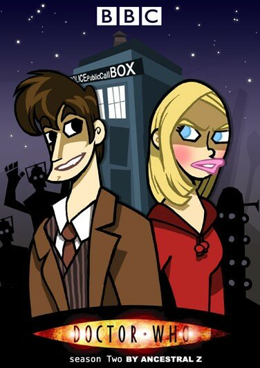 Docteur Who Doctor Two David Tennant Piper
