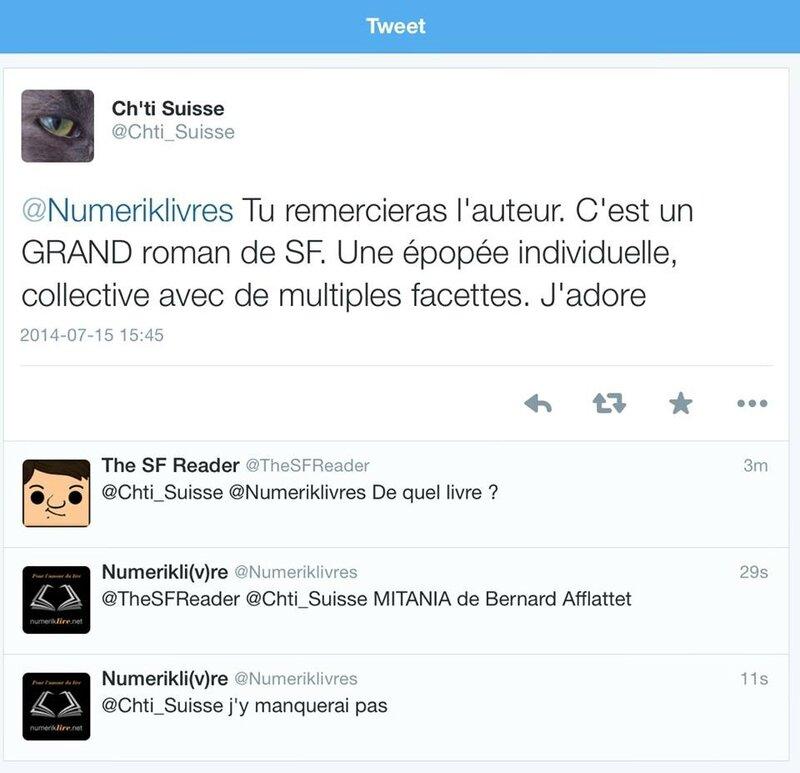 Mitania - Sur Twitter