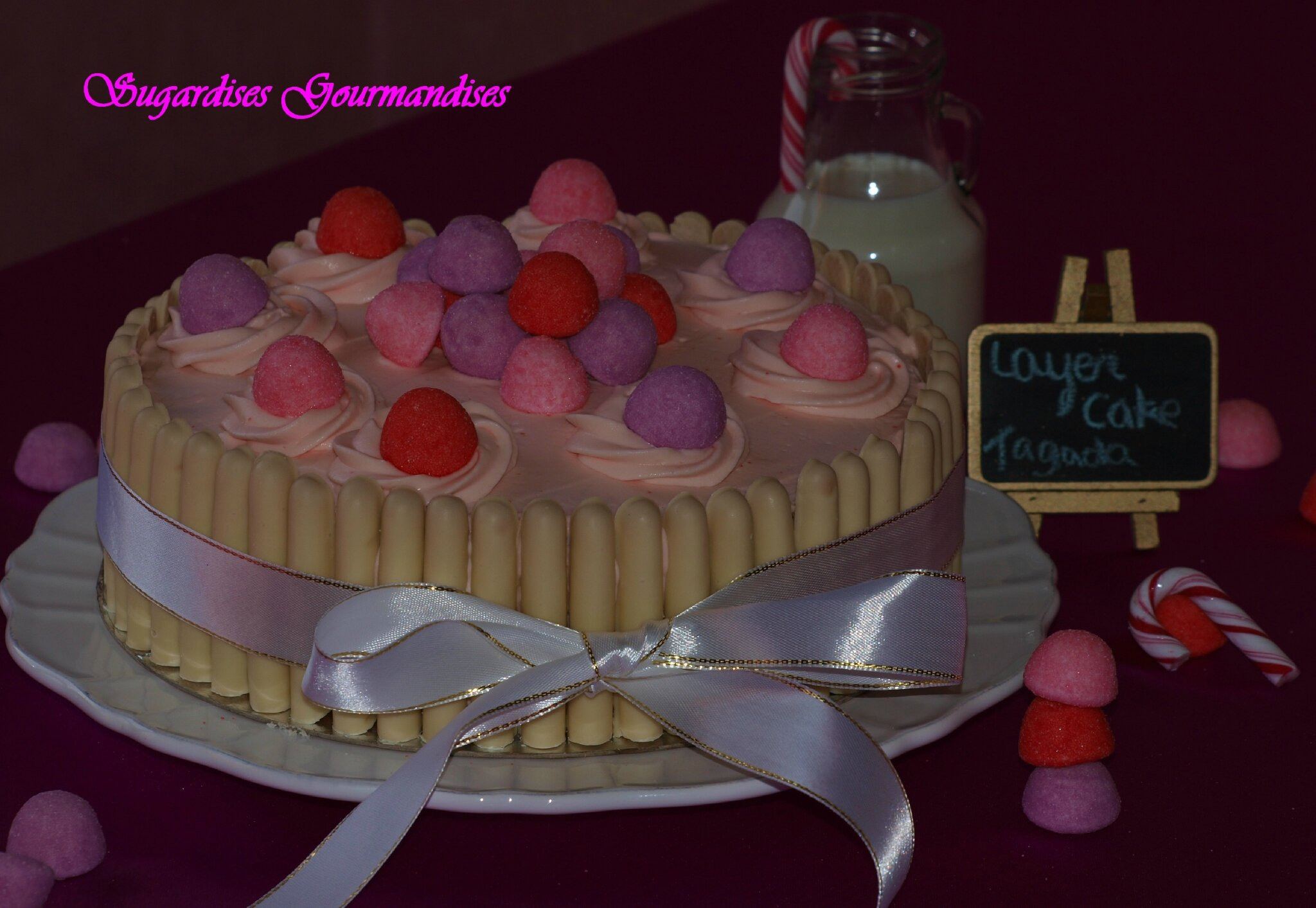 LAYER CAKE TAGADA {ORIGINALE, PINK QUI PIK, PURPLE INTENSE }