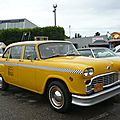 CHECKER Taxi Cab 4door Sedan Illzach (1)