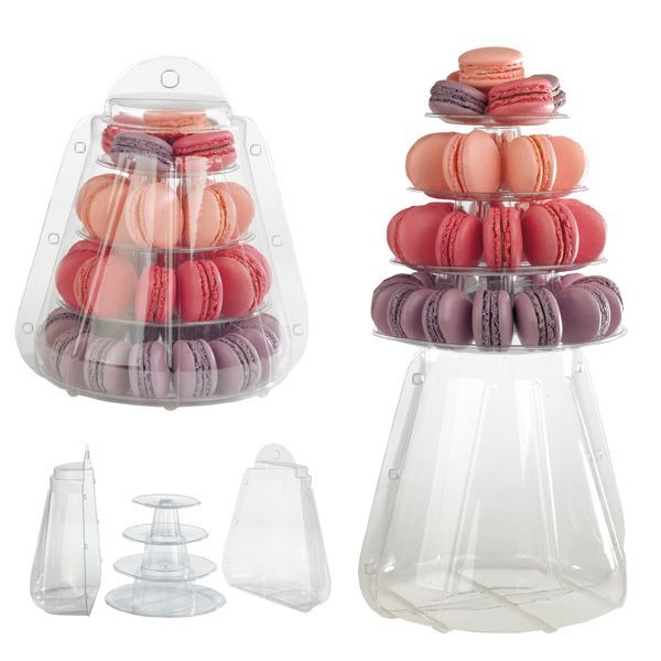 pr senter ses macarons pour une f te rose cook. Black Bedroom Furniture Sets. Home Design Ideas