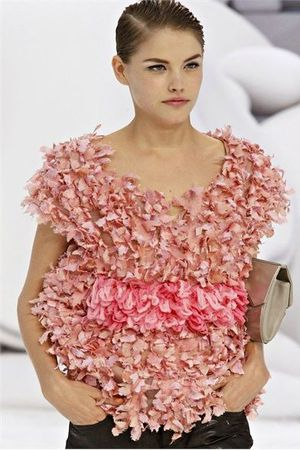 Via Vogue Chanel printemps été 2012