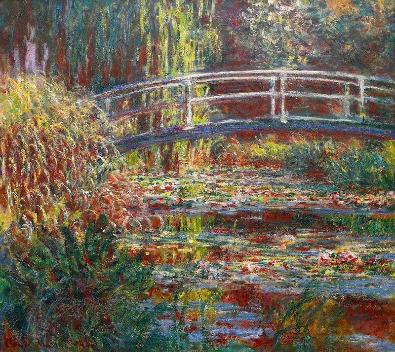 Water Lily Pond, Monet