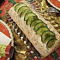 [pour les fêtes] bûche au saumon fumé