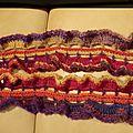 T030_écharpe multicolore