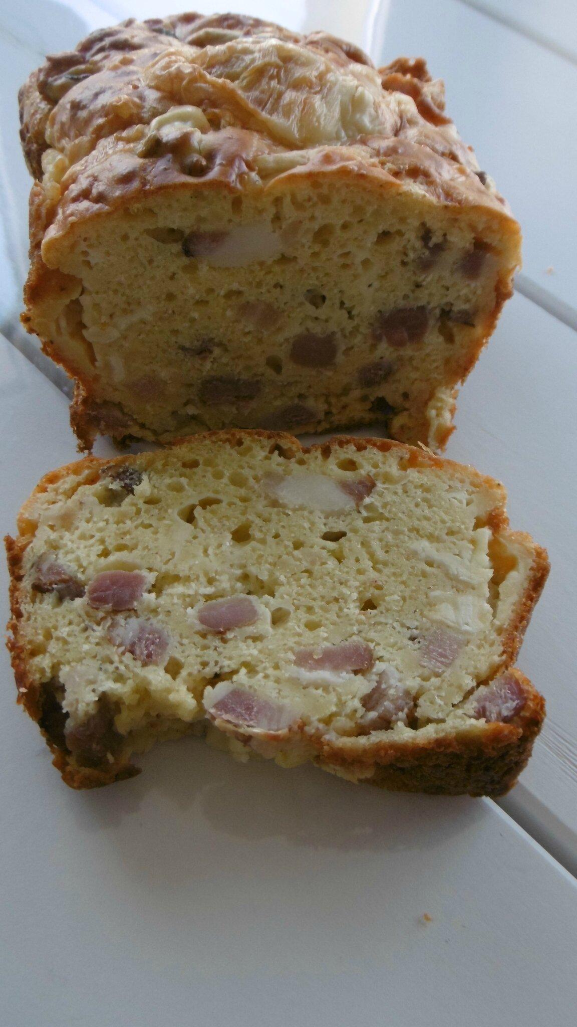 Cake Lardons Morbier