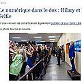 Hillary et le selfie