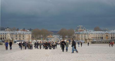 Chateau Versailles cour