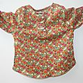 Blouse little boy 16