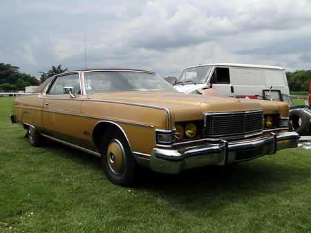 MERCURY Marquis Brougham Hardtop Coupe 1973 Broc aux Tacots de Richwiller 2010 1
