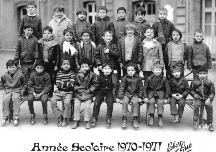 école Debussy 1970-1971 (2)