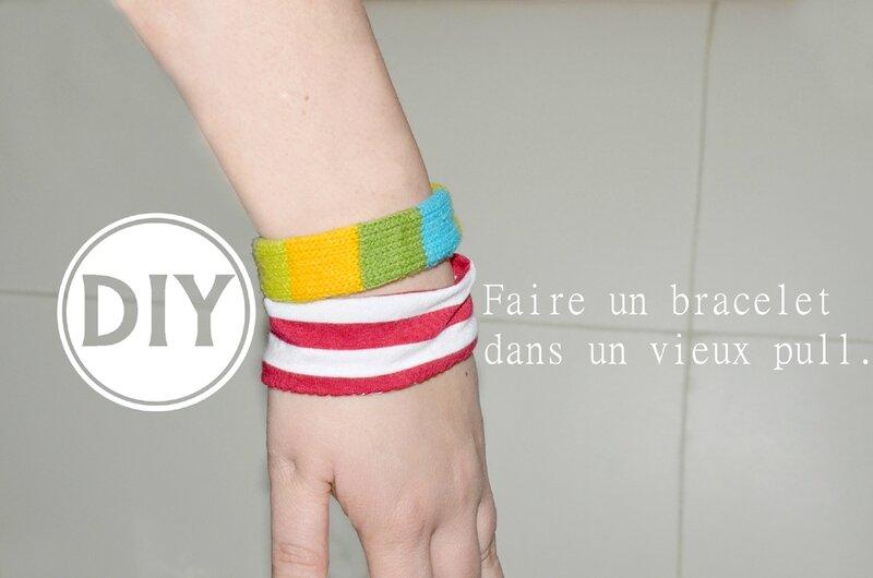 DIY bracelet en pull (7)