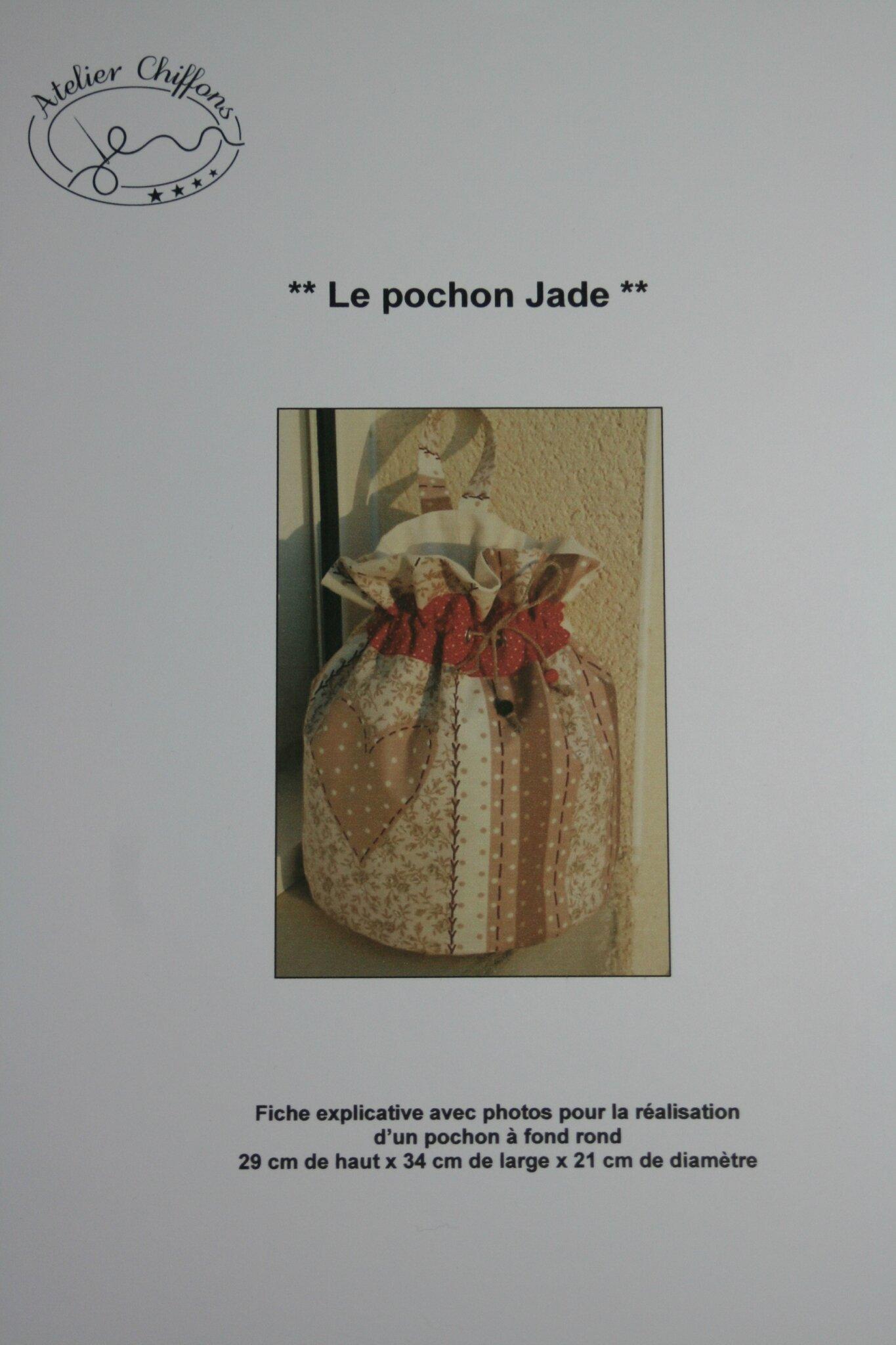 Fiche couture : Pochon Jade
