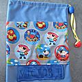 Sac à ballerines - version garçon
