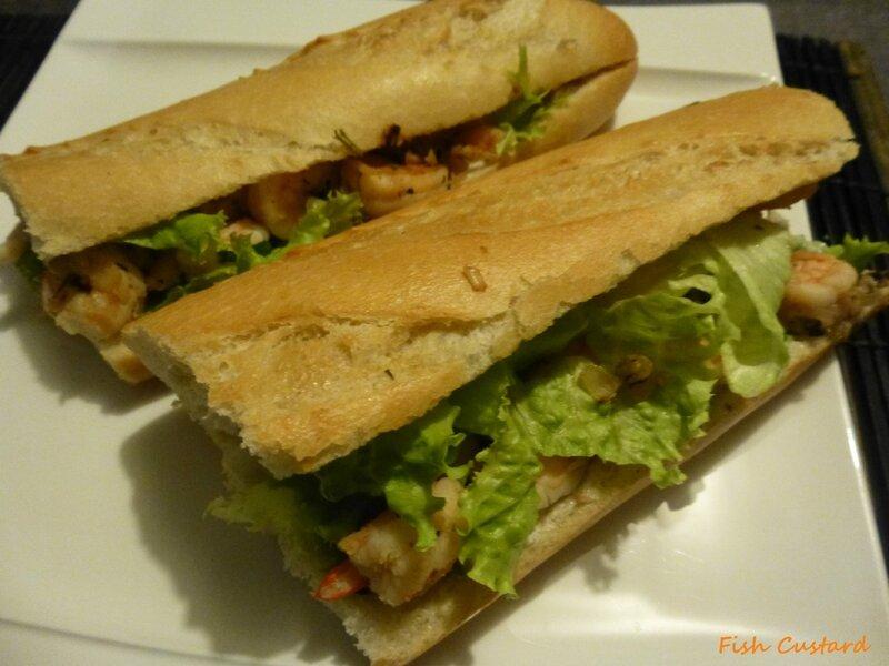 Sandwich aux crevettes (2)