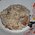 Risotto aux champignons