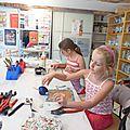 Les ateliers enfants - ados sont repartis pour de nouvelles créations