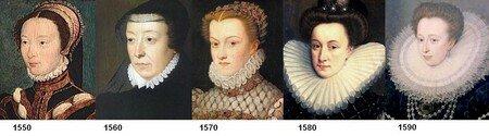 Evolution de la fraise au XVIe siecle (femme)