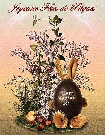 Joyeuses fêtes de Paques