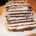Gâteau à la crème glacée!