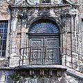 Patrimoine Ancien Portail Salins-les-Bains Jura - Vestige historique