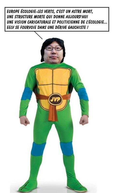 Placé-tortue-ninja