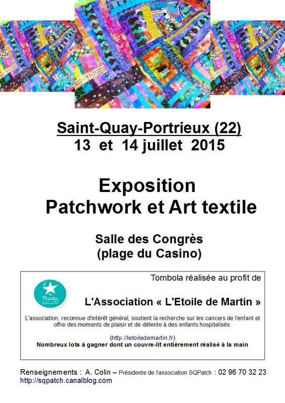 AFFICHE EXPO SQPATCH(