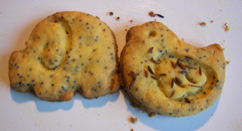 Biscuits coktail...en retard pour le blog cookies !