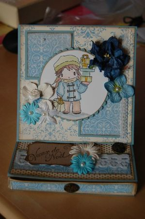chevalet bleu