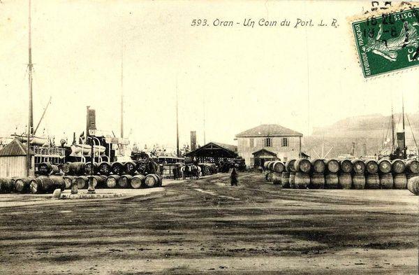 Oran- 016- travail sur les quais