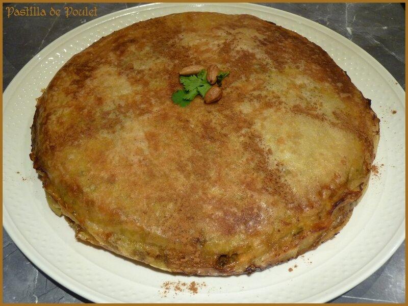 Pastilla de poulet 4