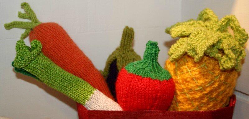 Fruits et légumes tricot 2