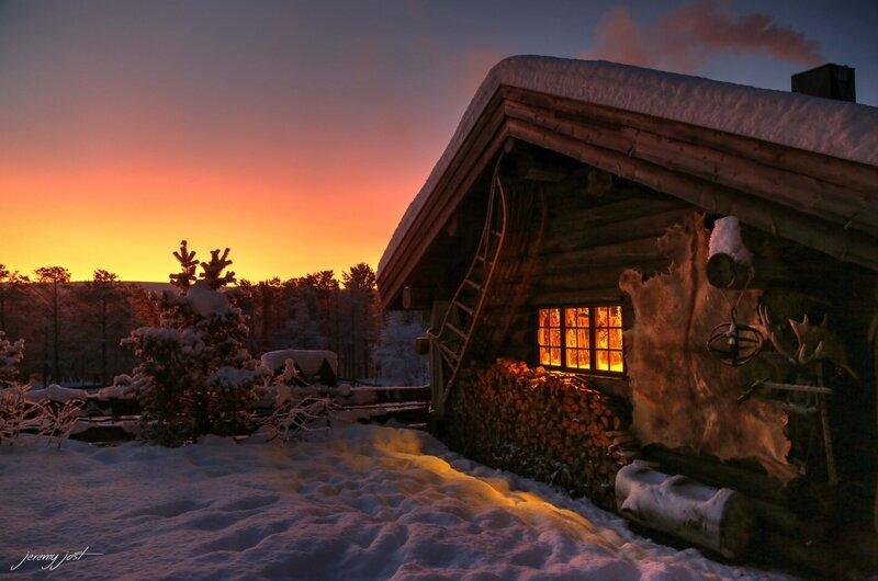 Morning engholm lodge blog hdr