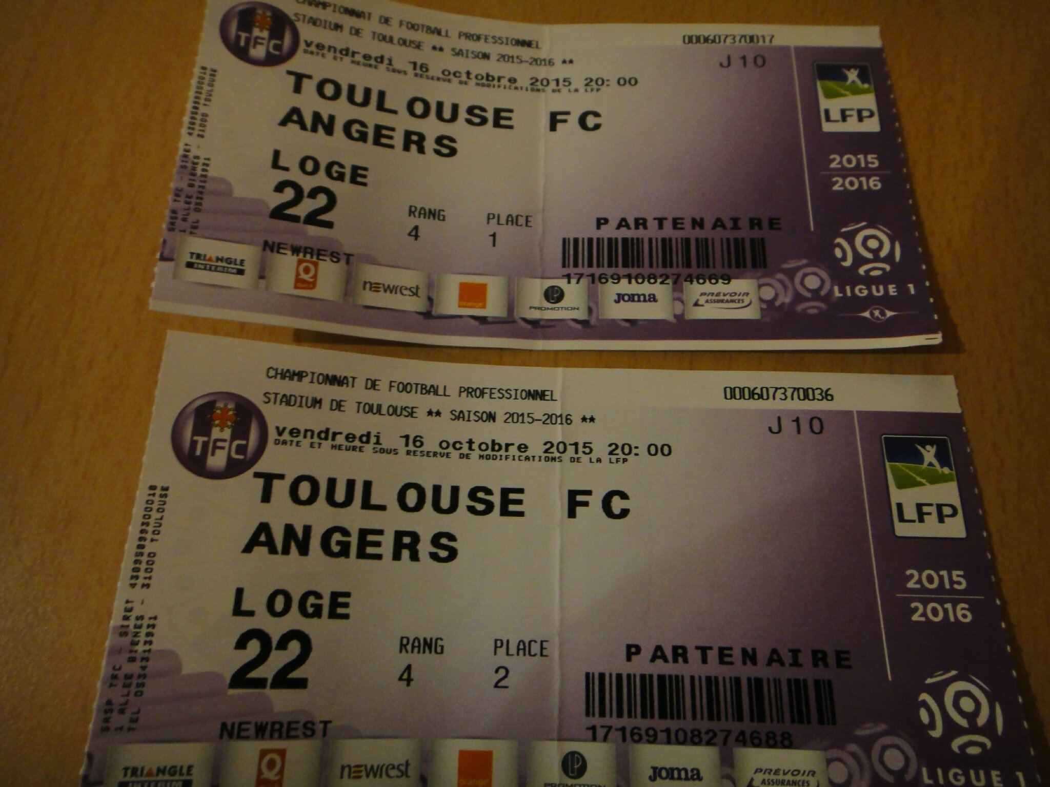 Match au Stadium de Toulouse