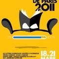 Citation flottante et salon du livre de paris 2011