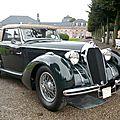 TALBOT LAGO Special T150C cabriolet 1937 Schwetzingen (1)