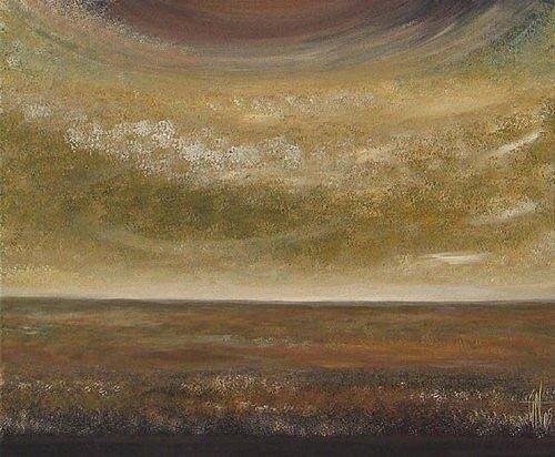 Ocres - Acrylique sur toile