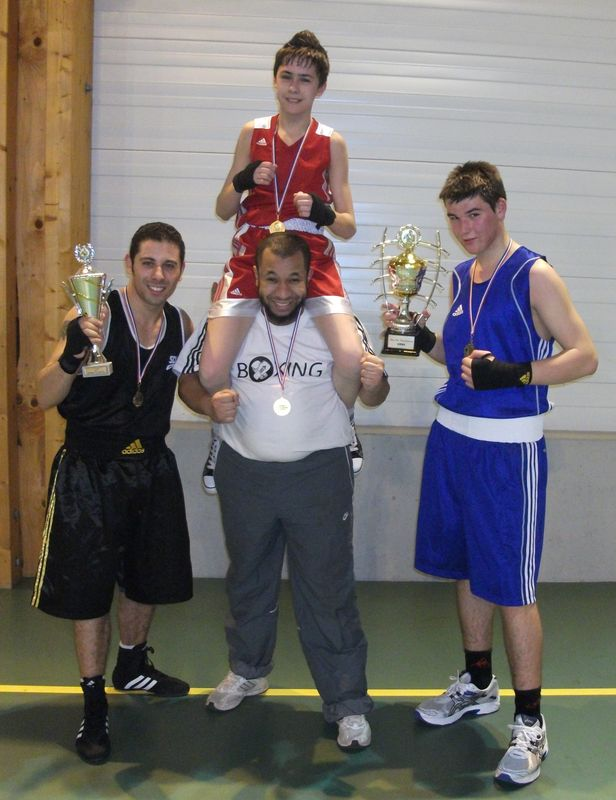 3 Champion de l'AWBA de Blanzy