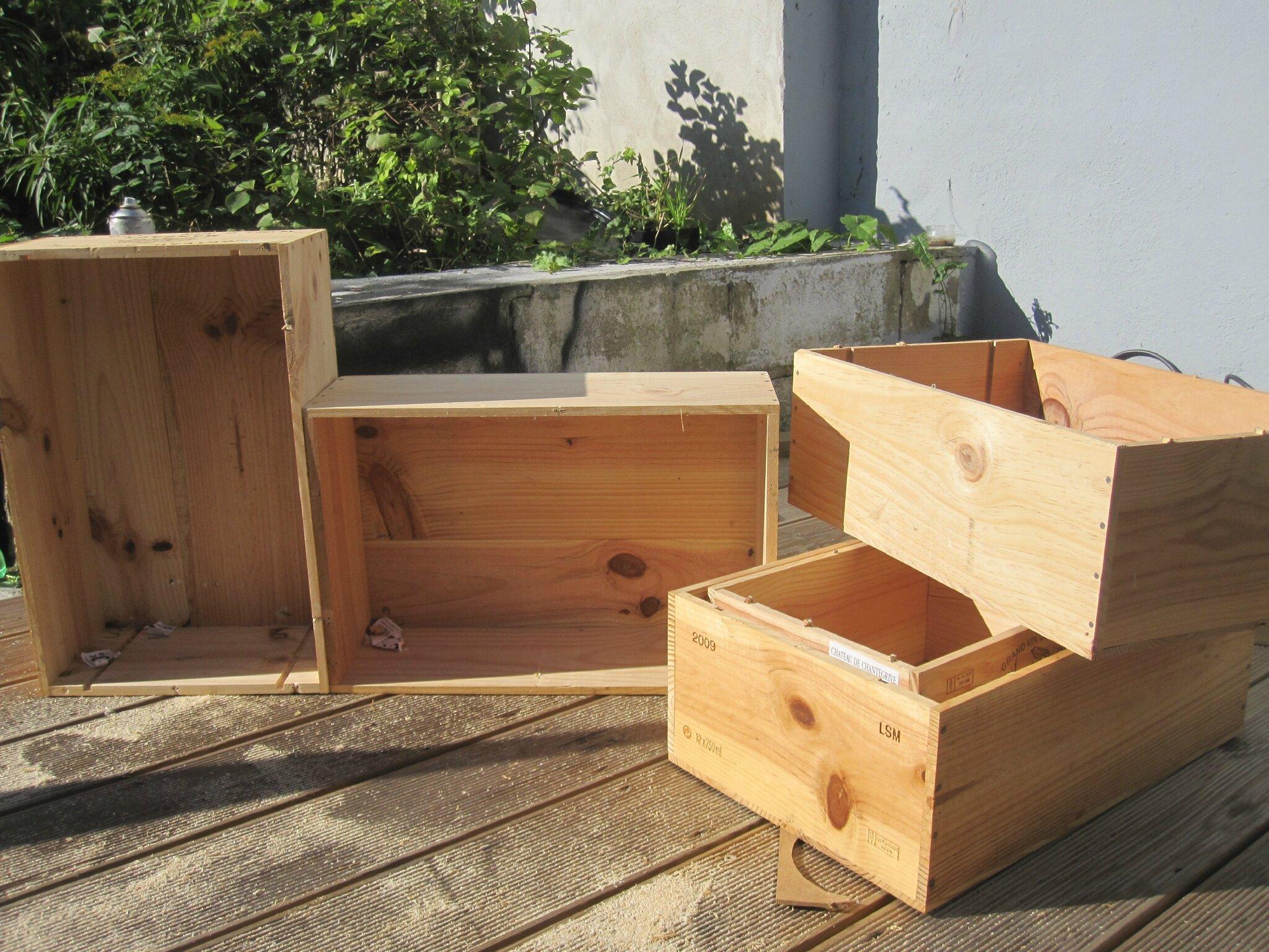 ikea caisse en bois. Black Bedroom Furniture Sets. Home Design Ideas