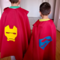 Duo de capes de super héros