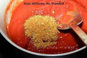sauce tomate express, pizza, sauce rapiden concentré tomate