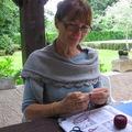 Mon saroyan tricoté par ma Marraine Juin 2010