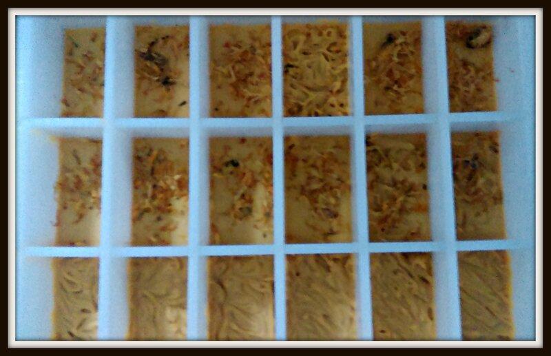 Savon à l'huile de buriti
