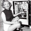 1951 marilyn chez elle
