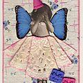 n° 228, papillon bleu