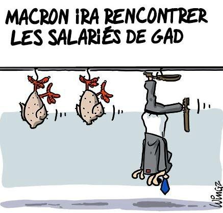 Macron humour